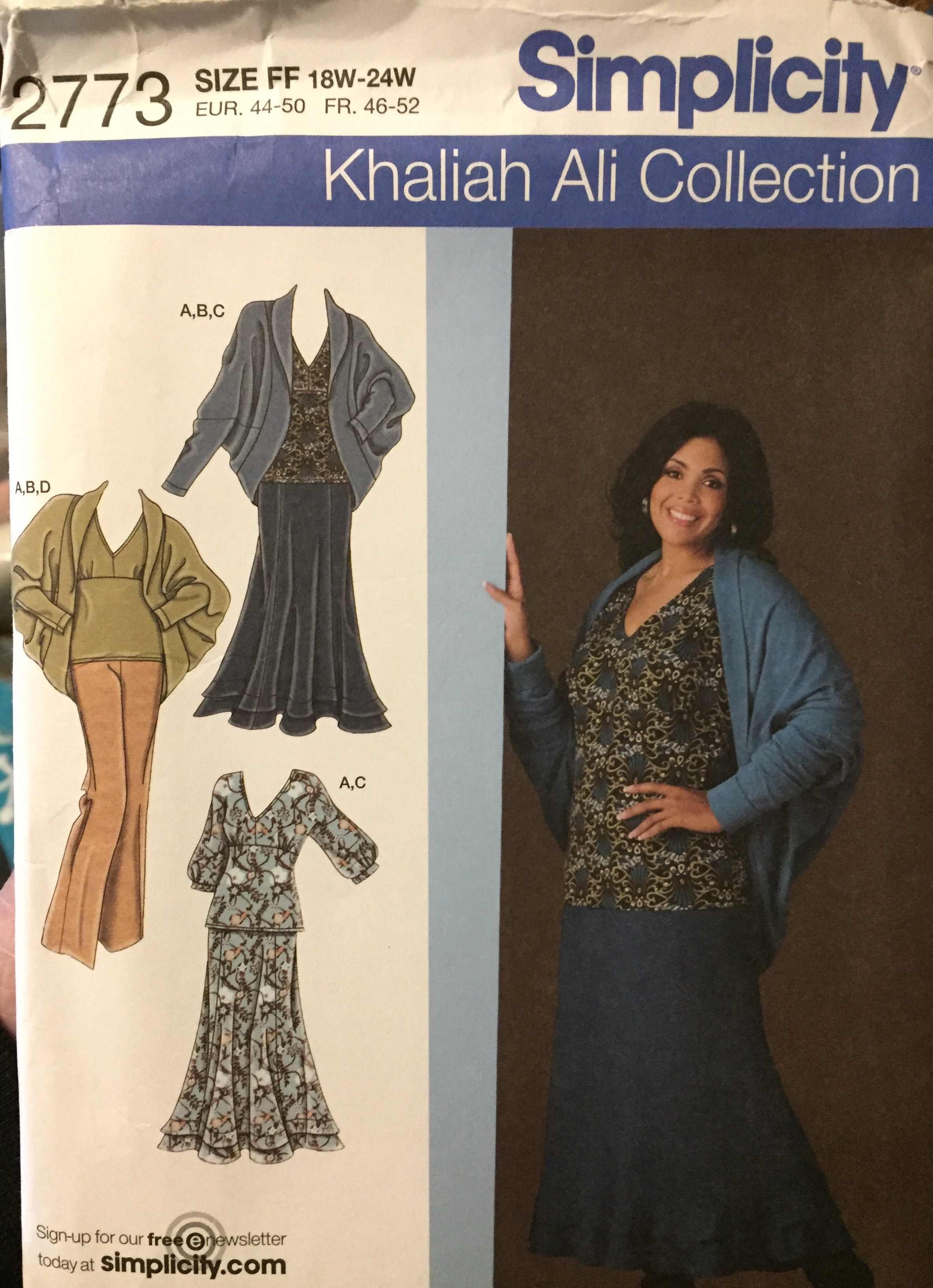 Sewing Pattern Victorian Jackets; Size 40-46
